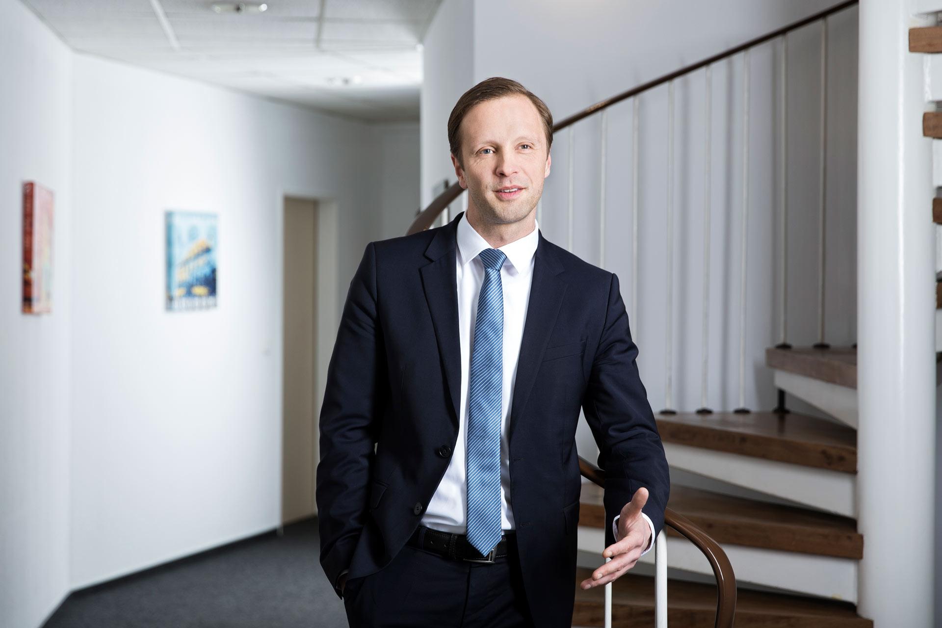 Jan Bernd Schulze Wartenhorst Treppe